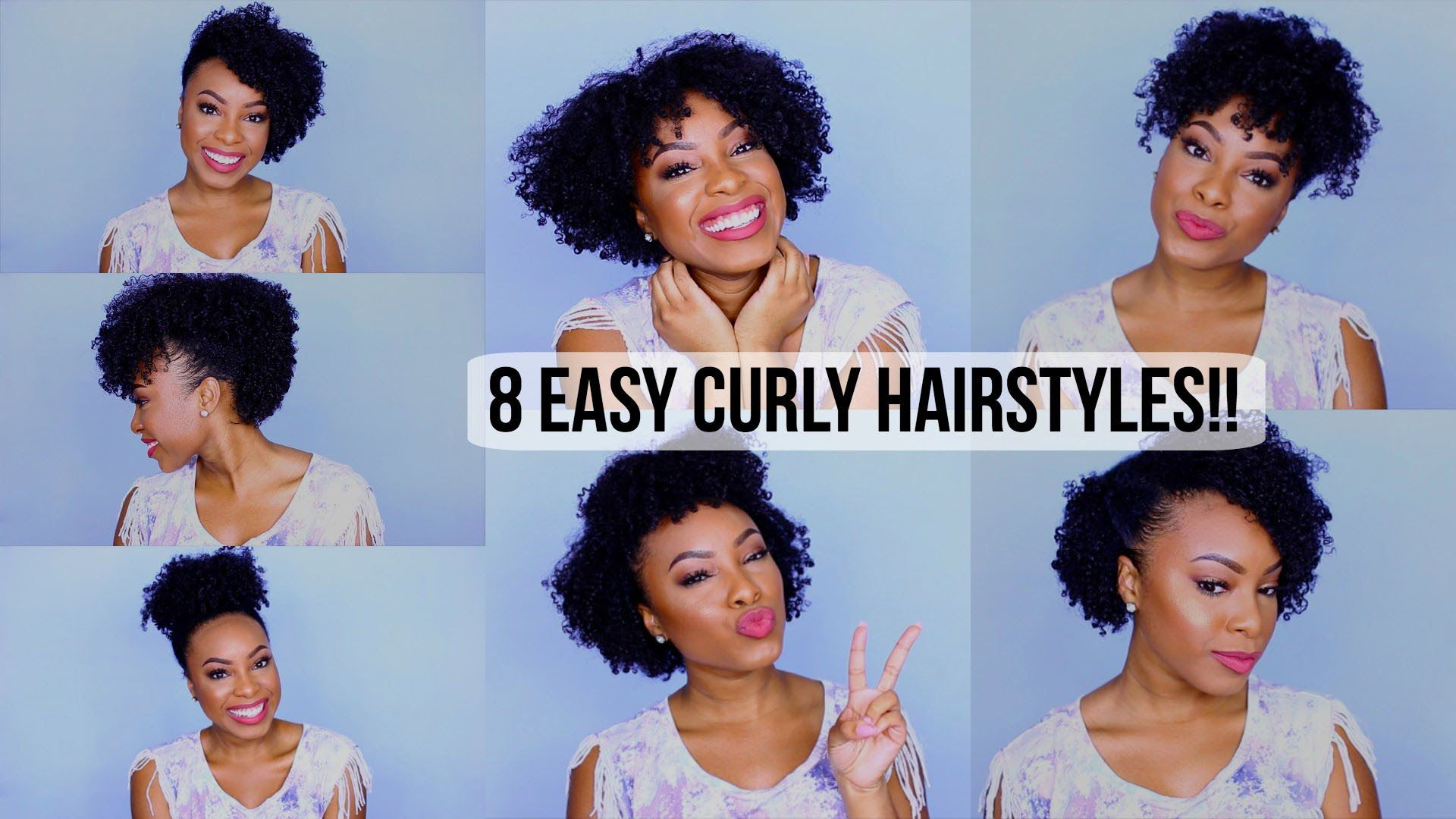 easy curly hairstyles curly hair tutorial alyratv braiding