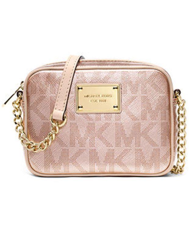 2c668222d784dd MICHAEL Michael Kors Handbag, Signature Metallic Crossbody | Purses ...