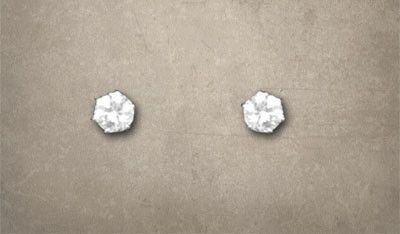 CZ Diamond Earrings