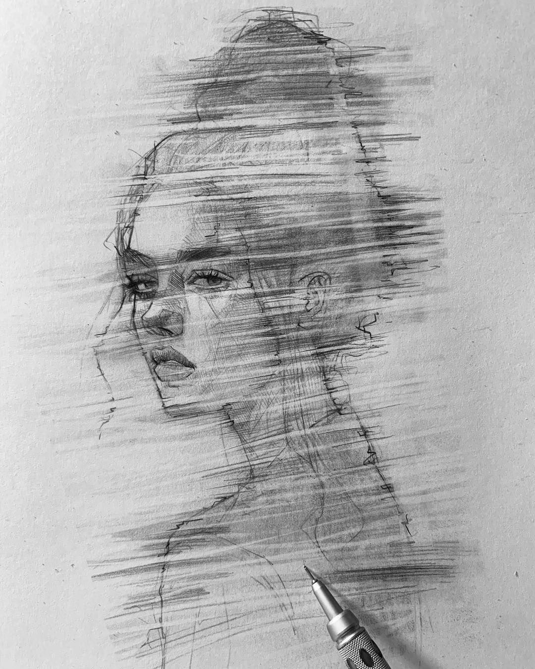 Pencil sketch artist efraín malo continue reading and for more sketch → view website
