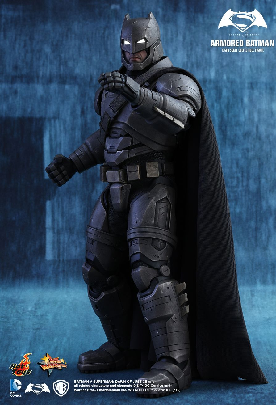 Hot Toys Batman V Superman Dawn Of Justice Armored Batman 1 6th Scale Collectible Figure Batman Figures Batman V Superman Dawn Of Justice Batman