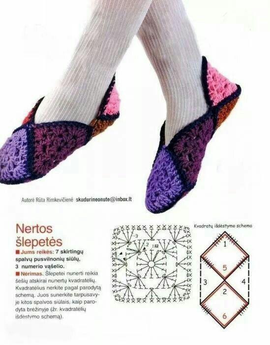 Boot crochet pattern | Crochet Women _ كروشيه المرأة | Pinterest