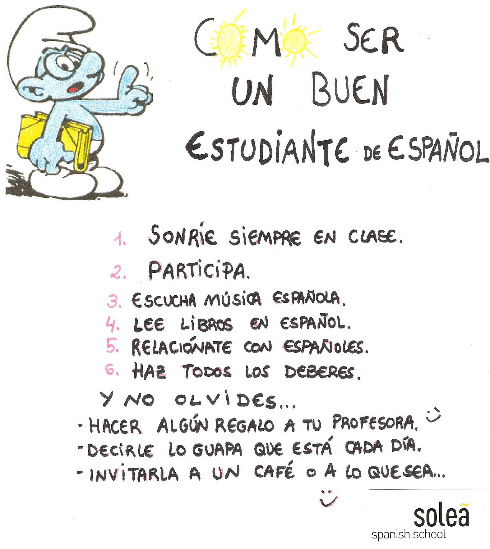 Como Ser Un Buen Estudiante De Espanol