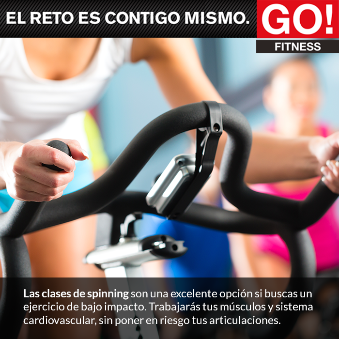 Spinning. #gofitness #clasesgo #ejercicio #gym #fit #fuerza #flexibilidad #reto #motivate #spinning