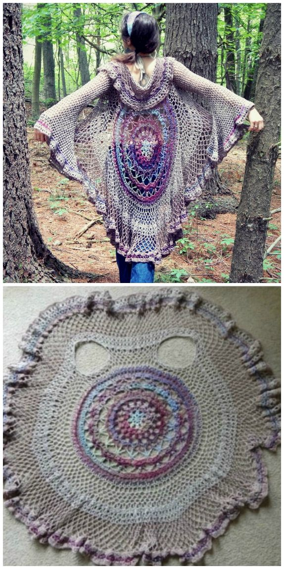 Crochet Circular Jacket Pattern Ideas is part of Crochet poncho free pattern, Crochet jacket pattern, Crochet patterns free women, Crochet vest pattern free, Crochet poncho, Crochet patterns - We have put together a collection of Crochet Circular Jacket Pattern Free Ideas that you are going to love  This is one of our most popular posts, check them out now