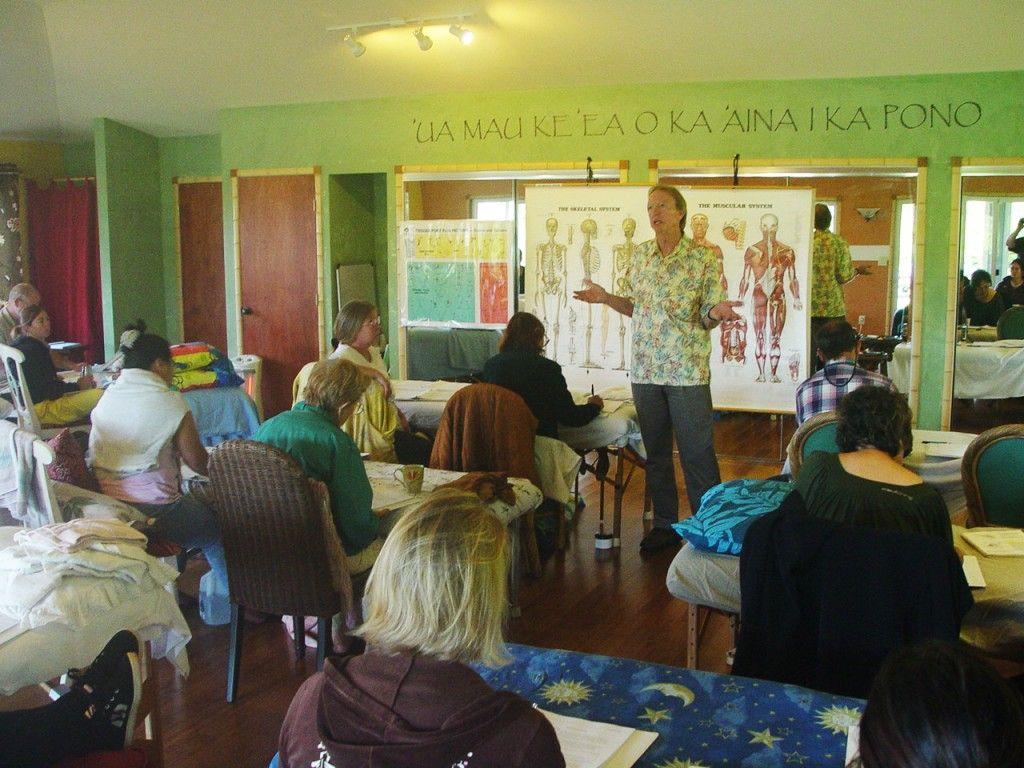 Ho'omana Spa Maui Lomi Lomi Training Medical massage
