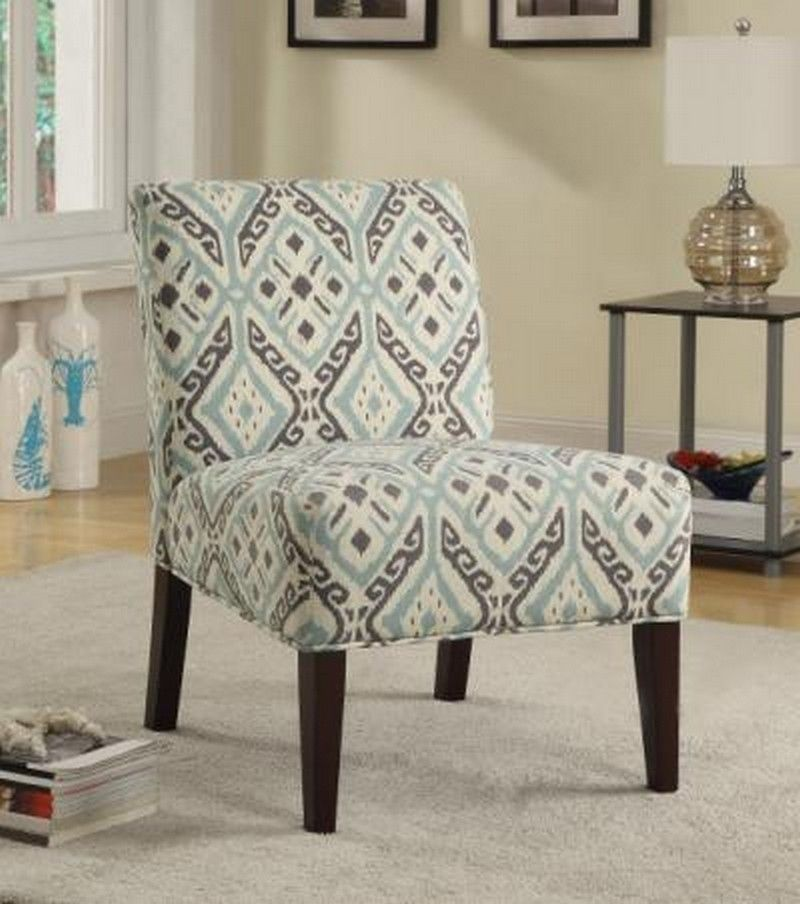Beige brown and teal accent chair teal accent chair