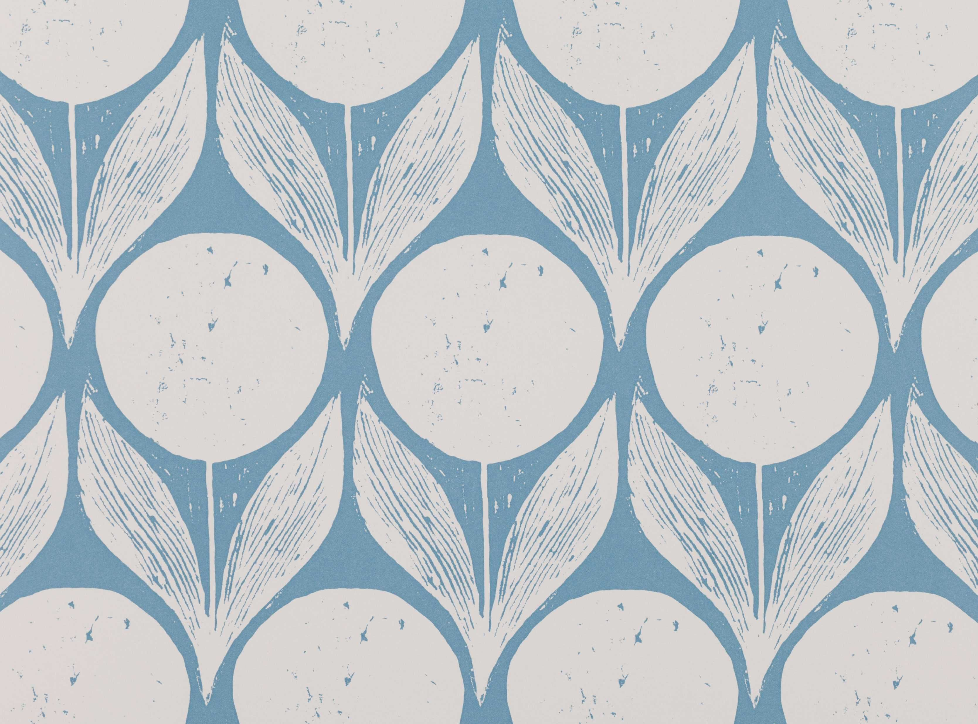 Inspired By A 1950 S Scandinavian Block Print Designer Fabrics Wallcoverings Upholstery