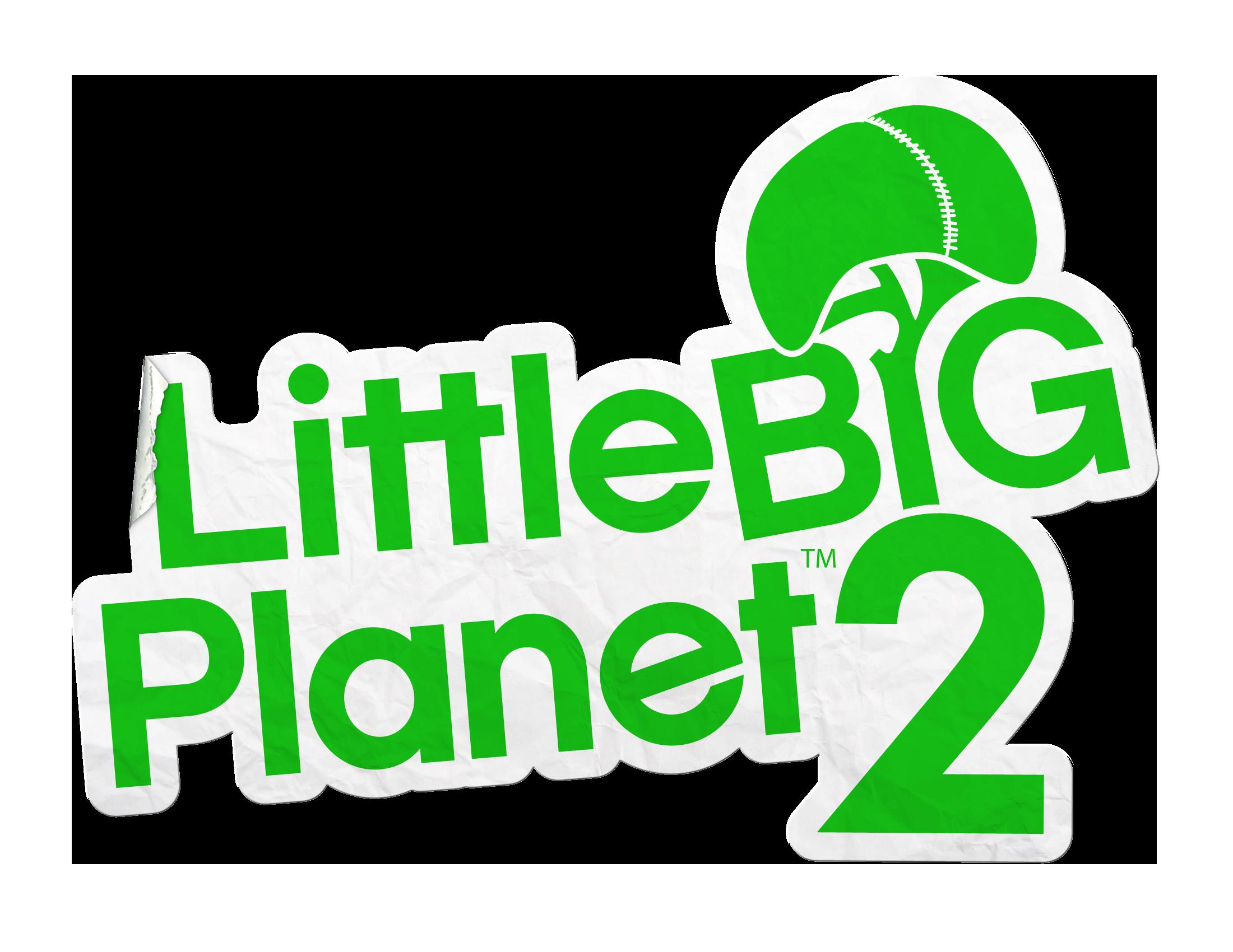 Little Big Planet 2 logo | LittleBIGPlanet | Games, Logos