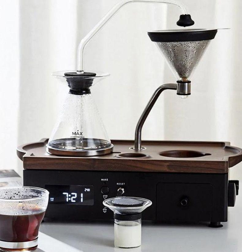 Barisieur coffee brewing alarm clock designed by joshua
