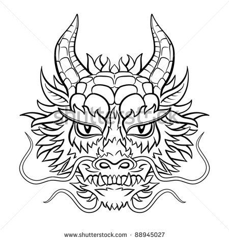 chinese dragon head Google Search Tattoos Dragon