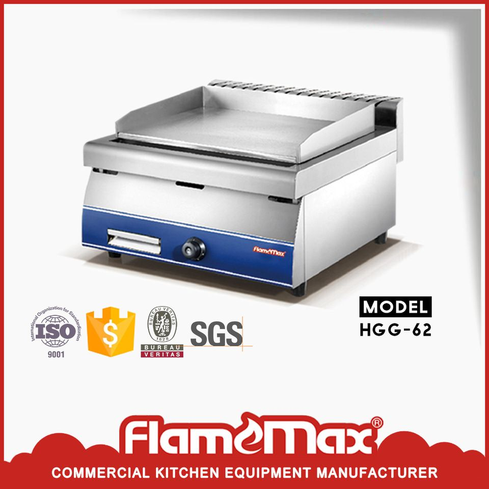 fast heating free standing dosa griddle for restaurant