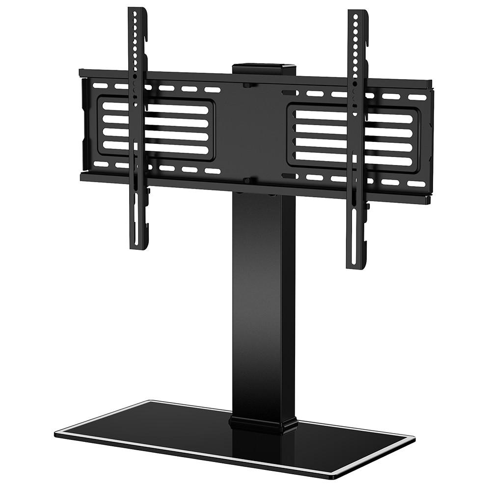 Universal Table Top Tv Stand For 32 To 65 Inch Tv Tt105001gb Swivel Tv Stand Tv Stand With Swivel Mount Tv Stand With Mount
