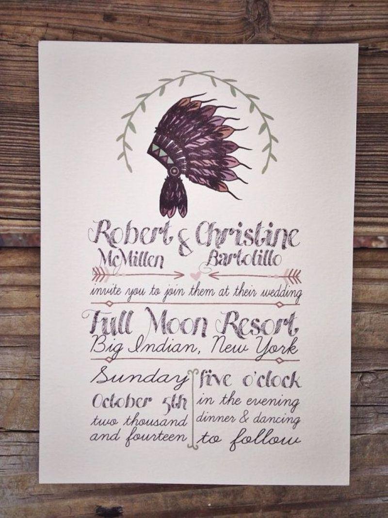Best Native American Wedding Invitations | Pinterest | Native ...