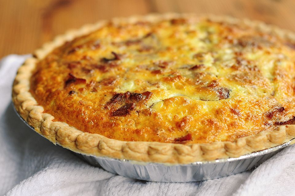 Brie and Bacon Quiche | Recipe | The cheese, Bacon quiche ...