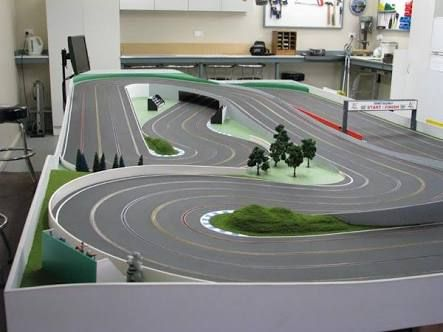 wood routed slot car track photos Google Search … Slot