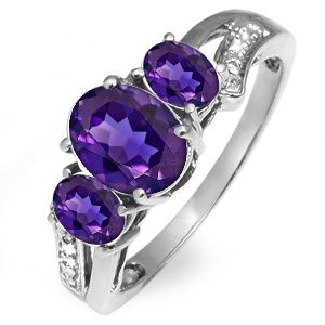Jared Amethyst ring 13830 Jewelry Wish List Pinterest