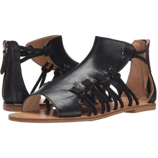 Koolaburra Farrah (Black) Women's Shoes (63 CAD) ❤ liked on Polyvore  featuring
