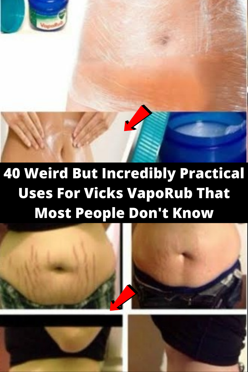 40 Weird But Incredibly Practical Uses For Vicks V