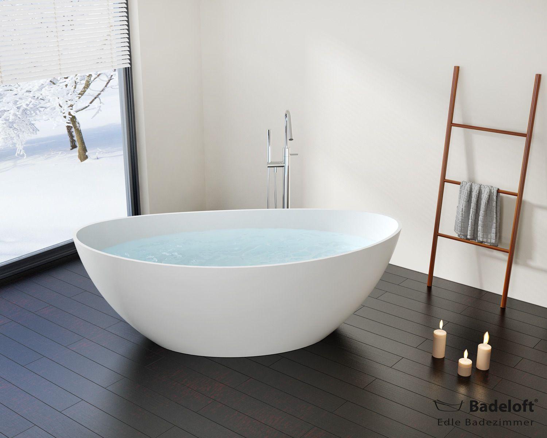 Freistehende Badewanne Bw 03 Xl Aus Mineralguss Badezimmer Planen Badewanne Freistehende Badewanne