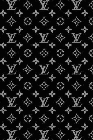 【人気74位】ルイ・ヴィトン - モノトーンのモノグラム   iPhone壁紙ギャラリー