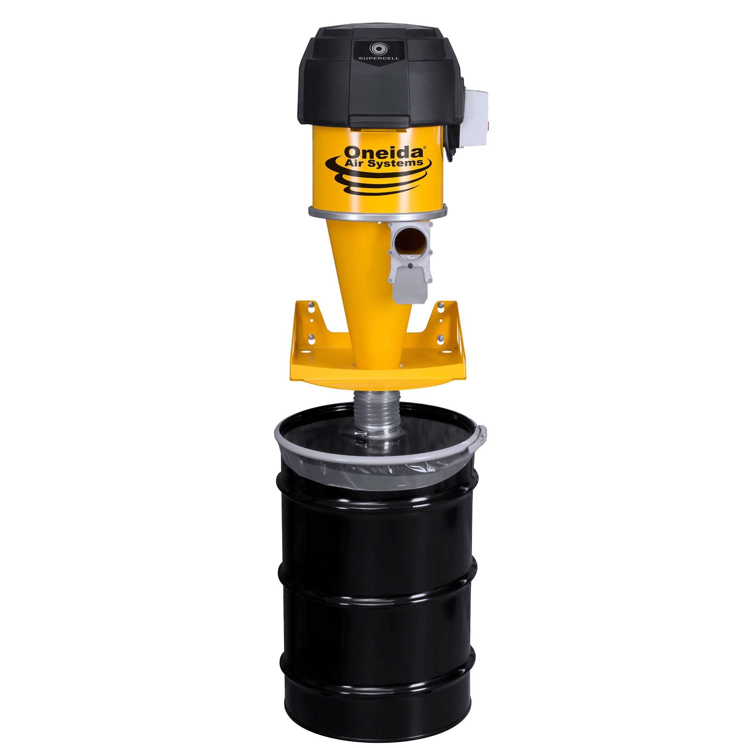Supercell HighPressure Dust Collector, 55 Gallon Dust