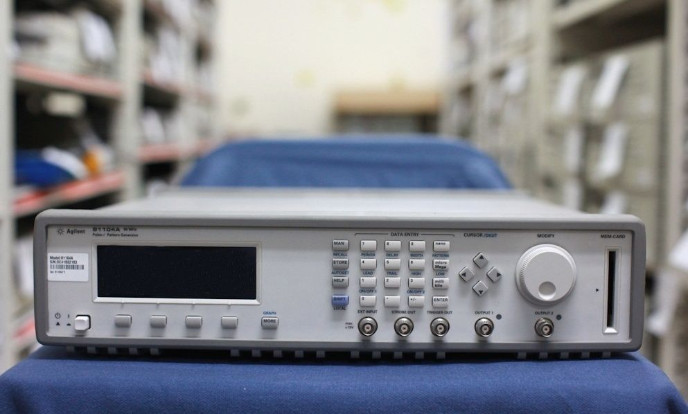 Agilent Hp 81105a Pulse Pattern Generator 80 Mhz 10v Output
