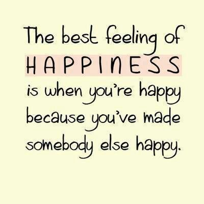The Best Feeling Of Happiness Is When Youre Happy Because Youve