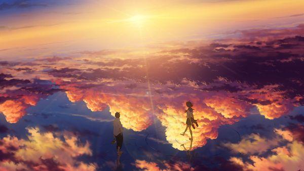 Walking on the sky
