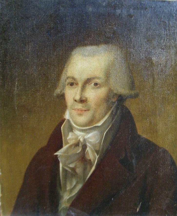 Presumed portrait of Maximilien Robespierre Frech school, 18th c.