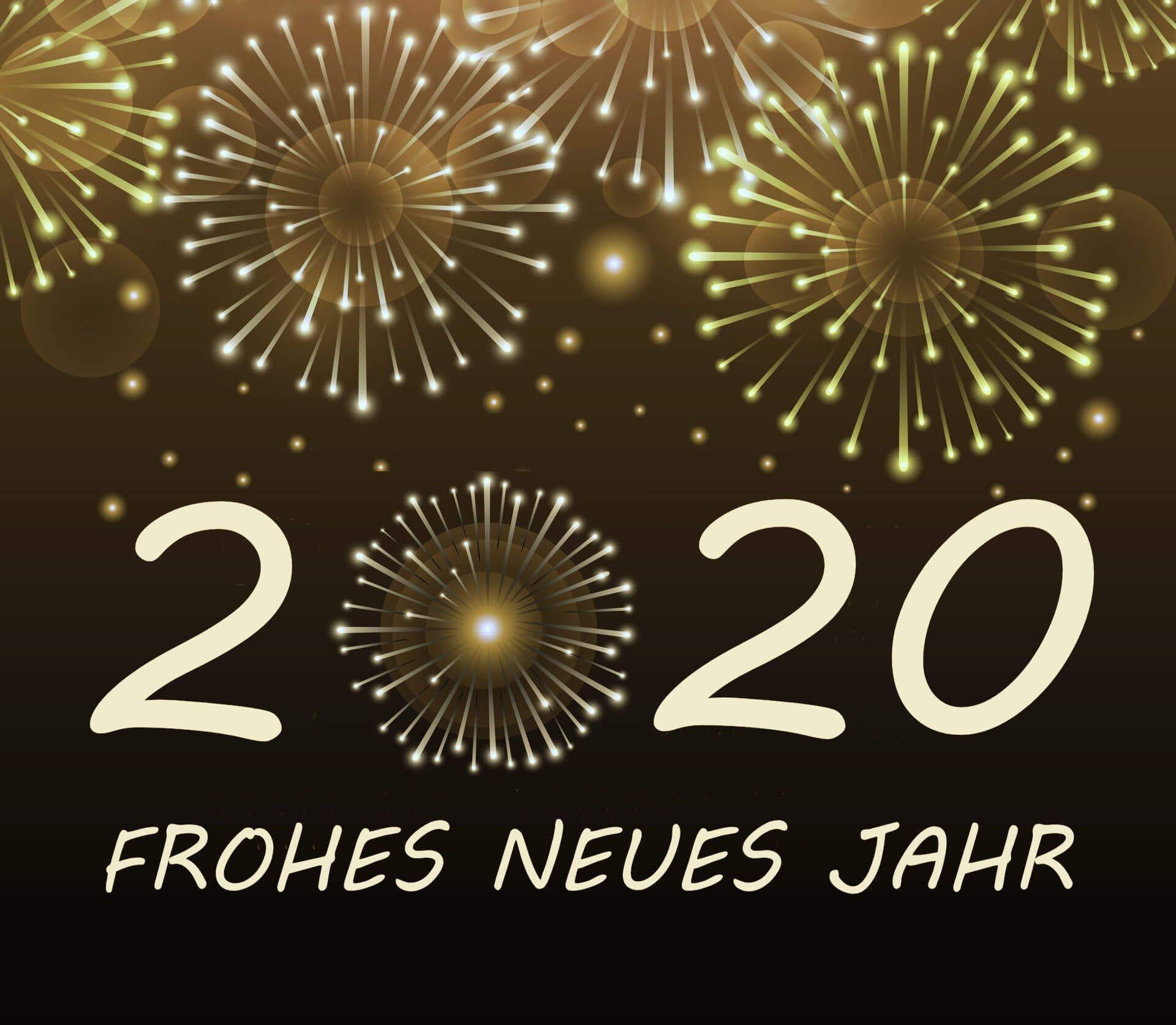 Neujahrswünsche 2020 in englischer Sprache ...
