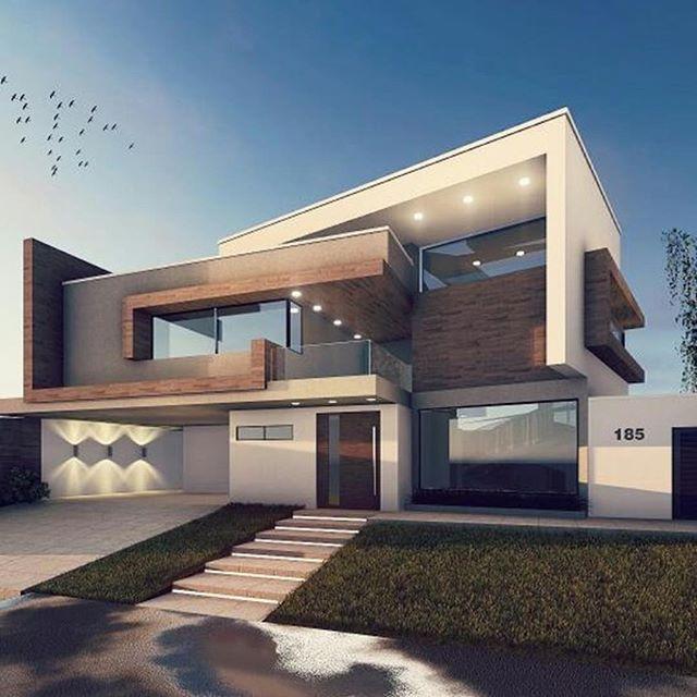 Sensacional cuadrada y minimalista fachadas casas for Arquitectura moderna minimalista