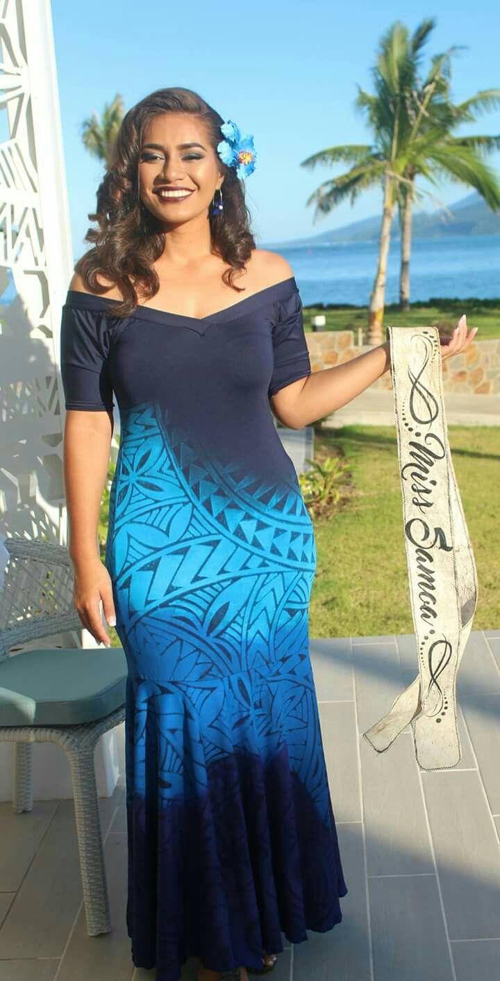 Miss Samoa | Polynesian Islands | Pinterest | Island wear, Hawaiian ...