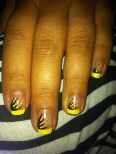 cute easy nails  yellow nail art yellow nails short nails