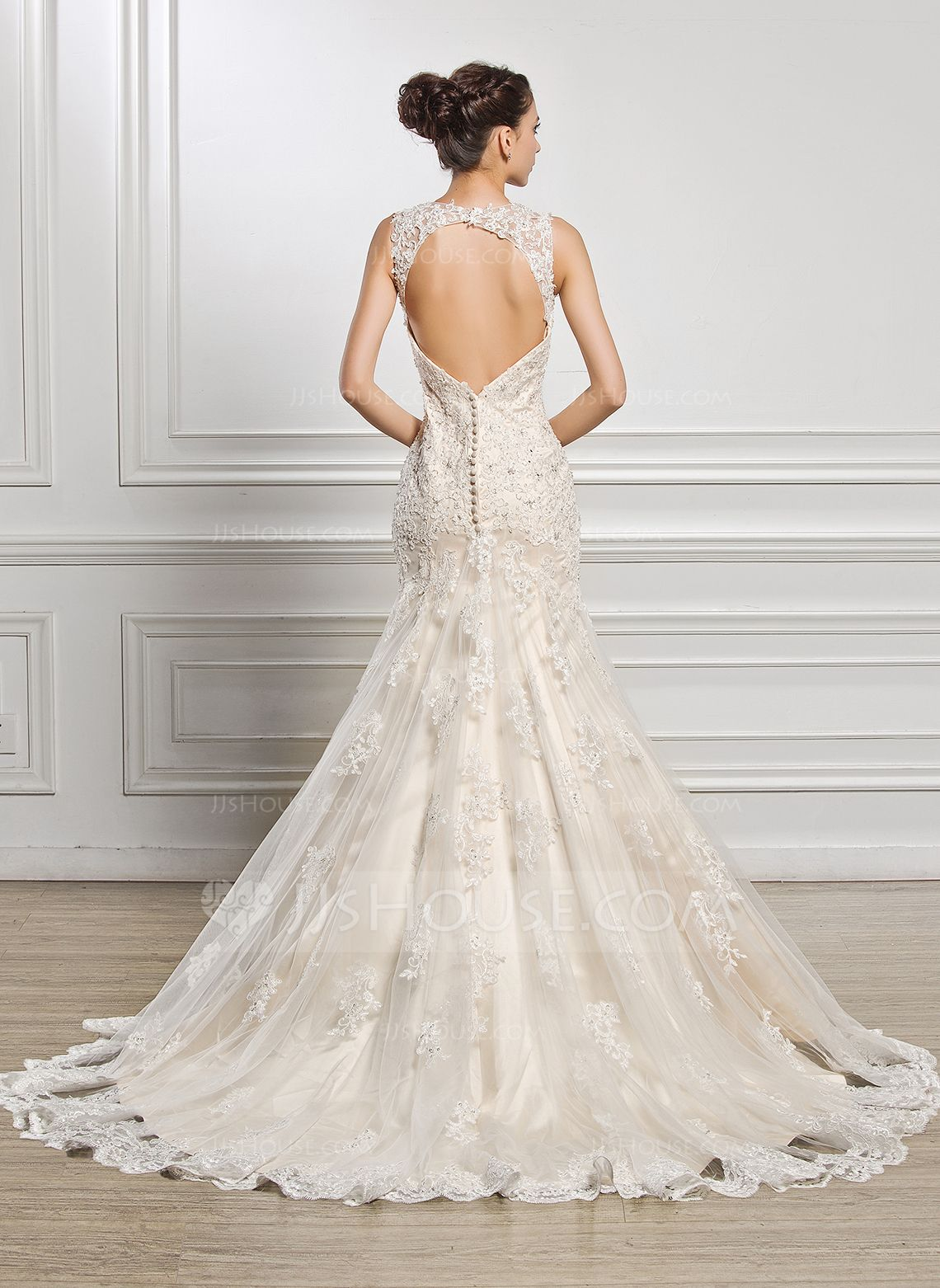 Us 442 00 Trumpet Mermaid Sweetheart Court Train Tulle Lace Wedding Dress With Beading Sequins Jj S House Wedding Dresses Lace Wedding Dresses Stunning Wedding Dresses [ 1562 x 1140 Pixel ]