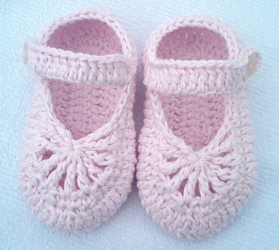 Instant Download Crochet Pattern Pdf File Yara Simple Baby Shoes