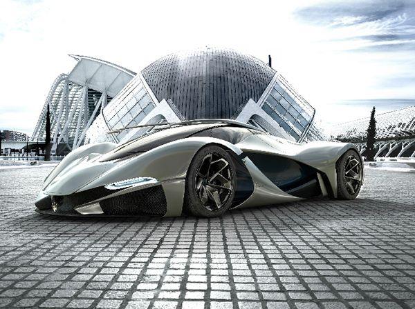 Lamaserati Concept Car By Mark Hostler Sport Cars Pinterest