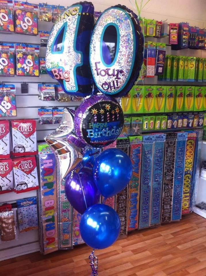 Oh No Its The Big 40 Birthday Balloon Bouquet