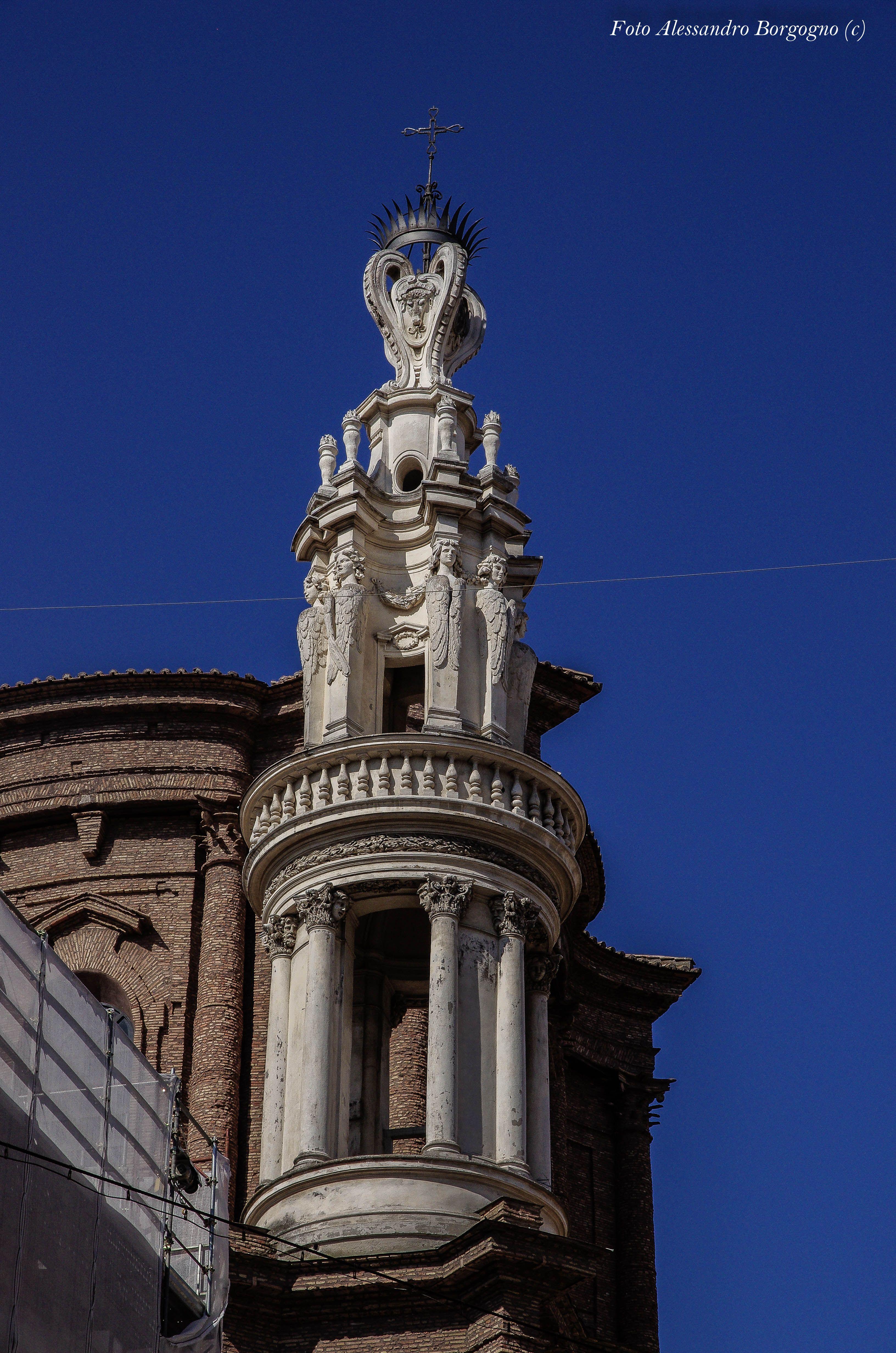 Borromini Sant Andrea Delle Fratte Campanile E Cupola 1653 1667 Parte Terza Giù Per I Vic Historical Architecture Architecture Leaning Tower Of Pisa