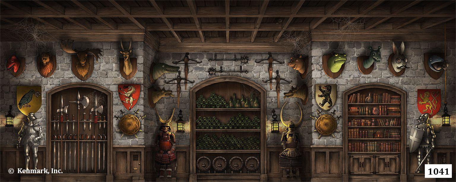 Ed1041 Addams Family Wine Cellar 20x50 Addams Family