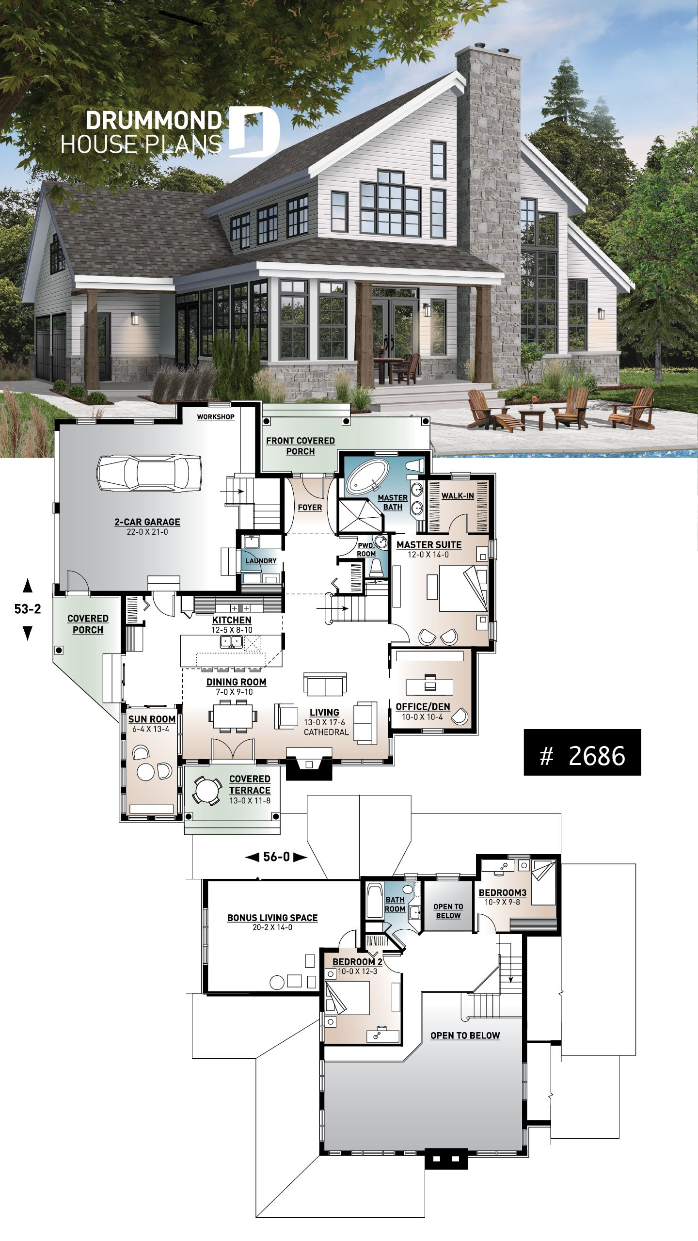 Discover The Plan 2686 The Wakefield 2 Which Will Please You For Its 3 4 Bedrooms And For Its Country Styles Country Cottage House Plans French Country House Plans Cottage House Plans