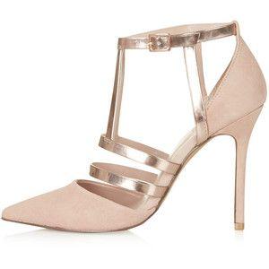 TOPSHOP GENEVA Strappy Court Shoes
