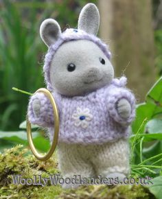 calico critter knit clothes etsy | ... Knitting pattern: Sylvanian Families & Calico