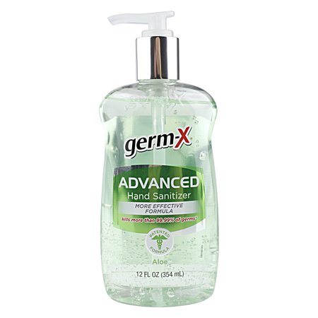 Germ X Advanced Aloe Hand Sanitizer 12 Fl Oz Hand Sanitizer