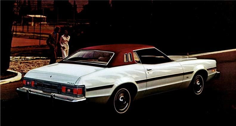 1976 Ford Grand Torino Elite Ford Old Muscle Cars Ford Torino