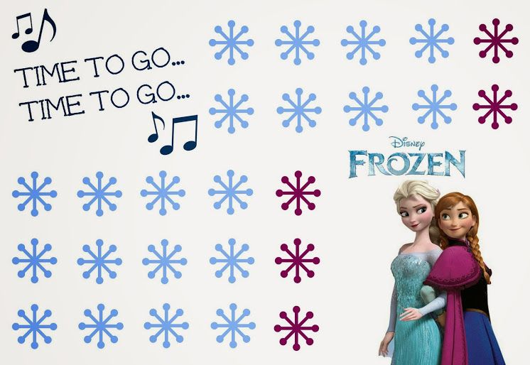 Free Printable Disney Frozen Potty Chart + Potty Training Tips | All ...