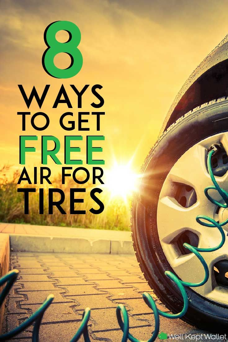 8 Ways to Get Free Air for Tires (Near Me) How to find