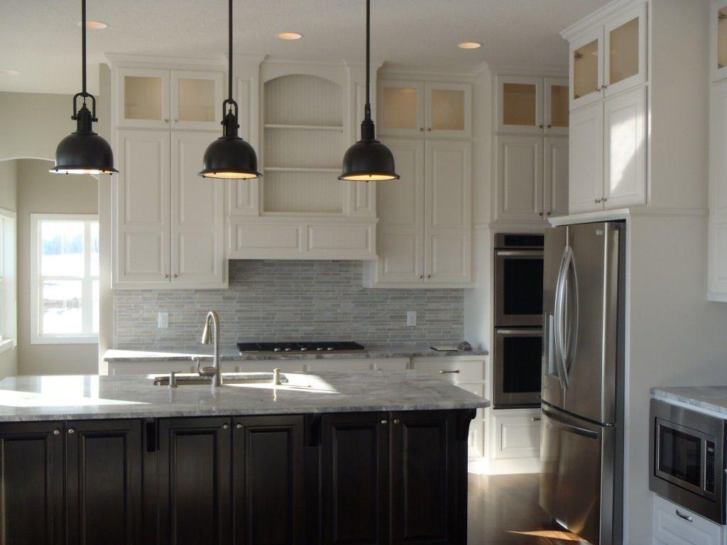 Nice Kitchen White Cabinets Dark Island White Kitchen Dark