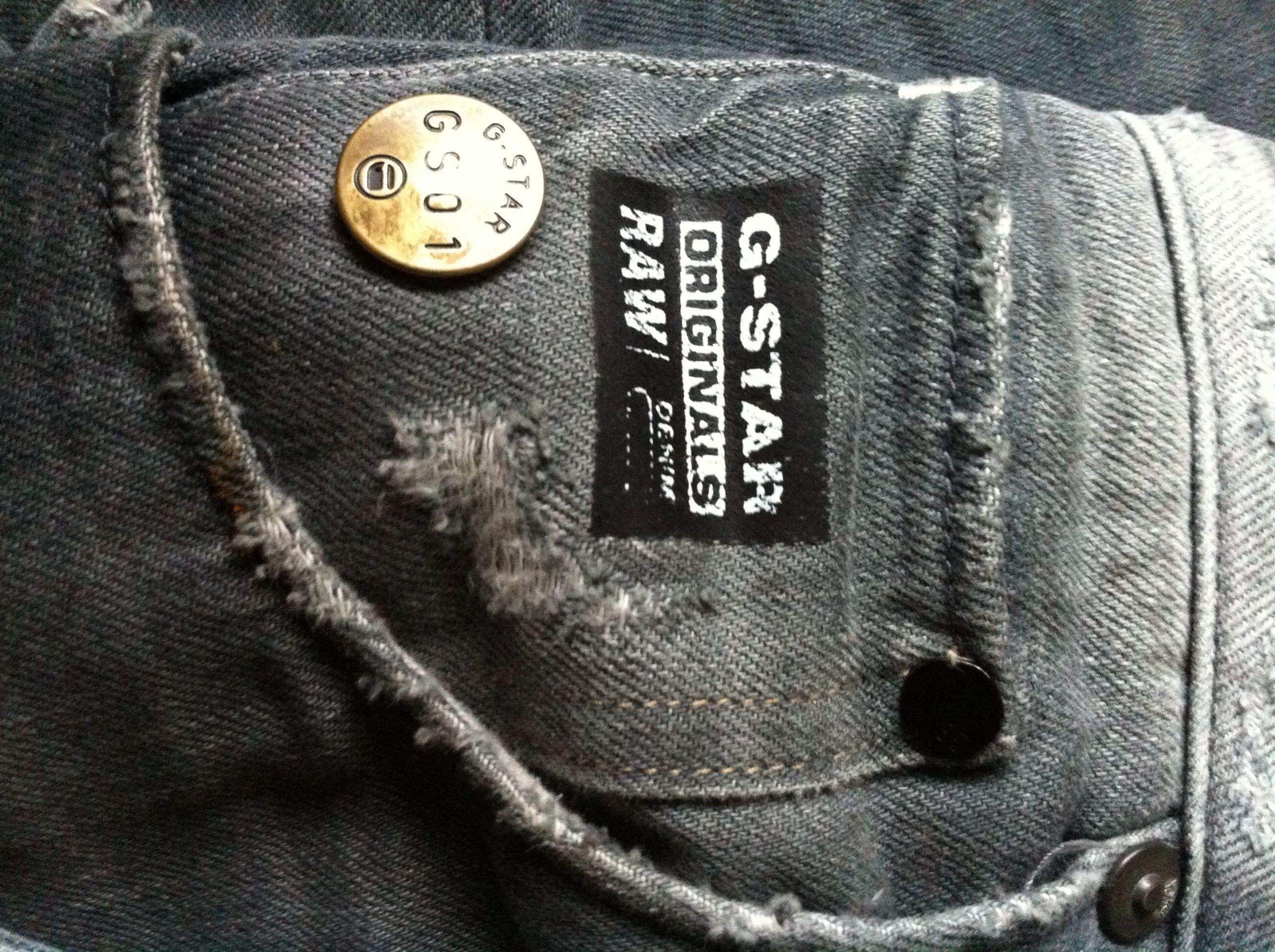 G-star label | Metal Plates | Denim, Label tag