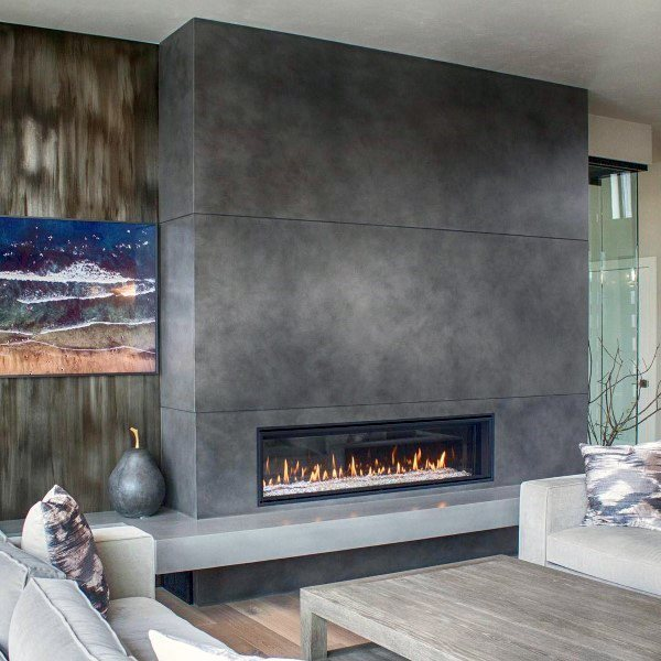 Most Recent Images Concrete Fireplace Design Ideas Whether Or Not